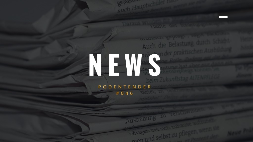Capa do episódio: PODEntender #046, news