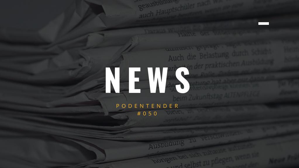 Capa do episódio: PODEntender #050, news